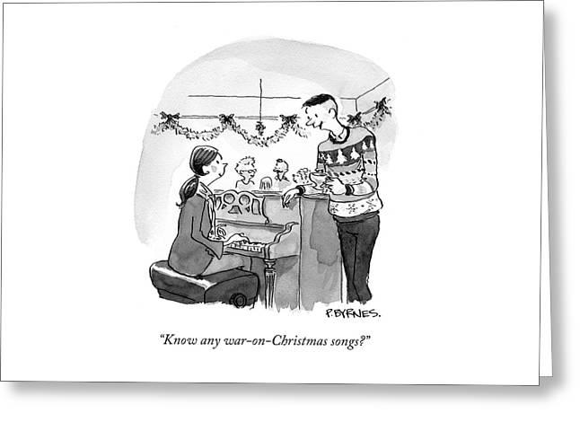 War On Christmas Greeting Card