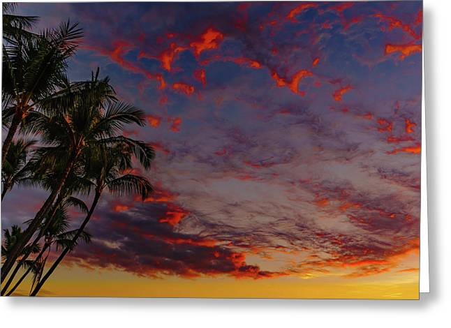 Warm Sky Greeting Card