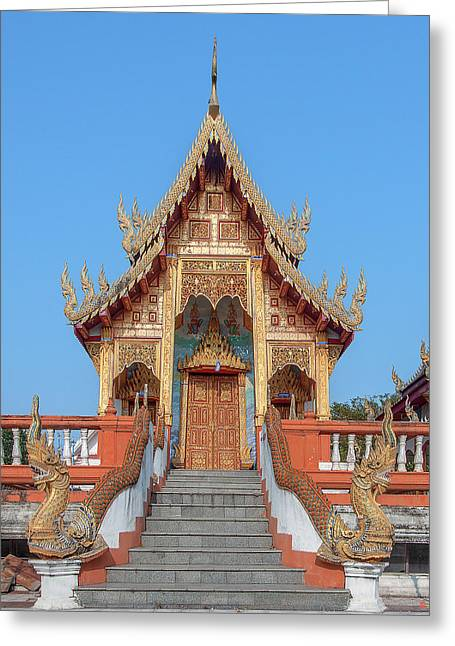 Wat Nong Tong Phra Wihan Dthcm2639 Greeting Card