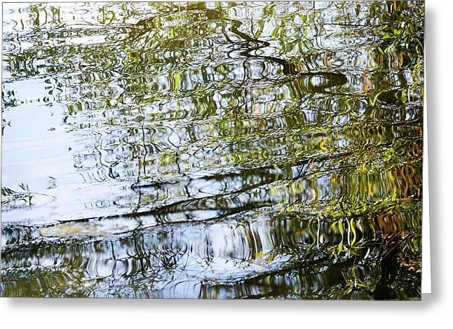 Water Reflection_74_17 Greeting Card