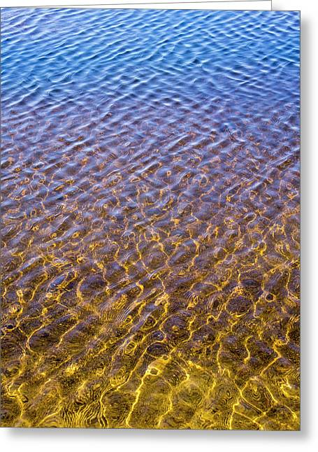Water Reflection_al_613_18 Greeting Card