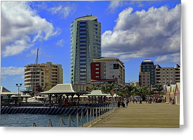 Greeting Card featuring the photograph Waterfront by Tony Murtagh