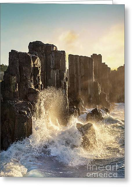 Wave Force Greeting Card