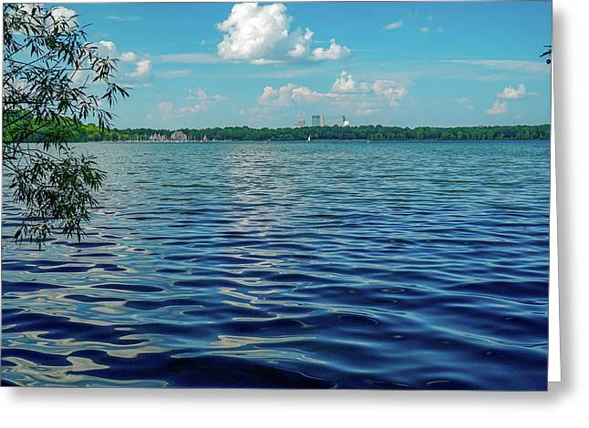 Waves On Lake Harriet Greeting Card