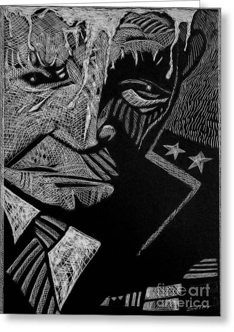 Weary Warrior. Greeting Card