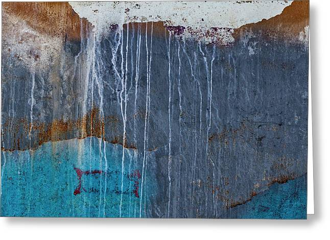 Weathered Paint Detail Greeting Card