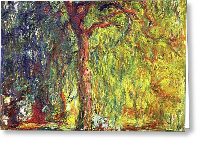 Weeping Willow - Digital Remastered Edition Greeting Card