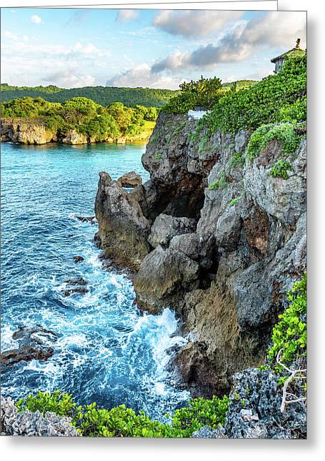 Welcome To Portland Jamaica Greeting Card