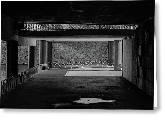 West Park Underpass Greeting Card
