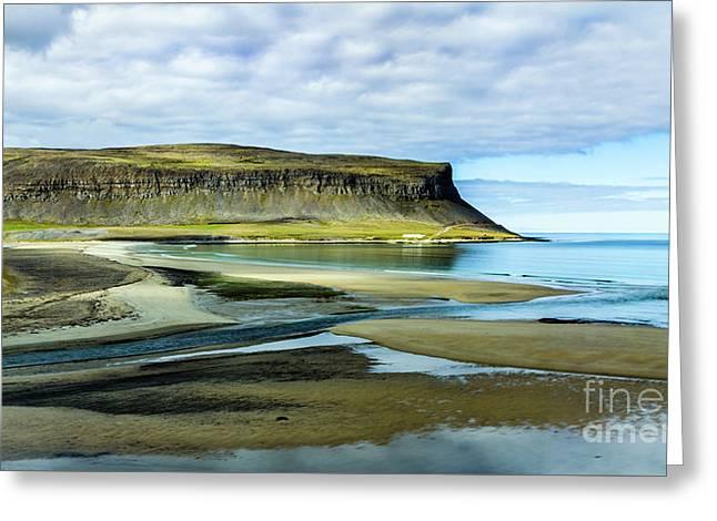 Westfjords, Iceland Greeting Card