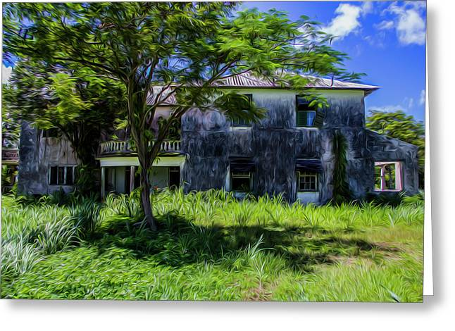 Westmoreland Plantation Greeting Card