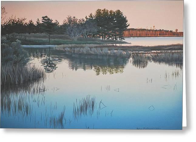 Wetland Reverie Greeting Card