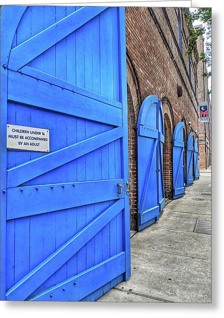 Which Blue Door Greeting Card