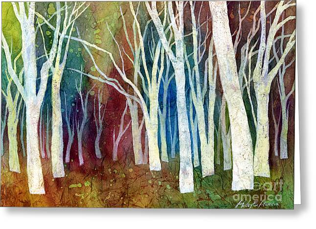 White Forest I Greeting Card