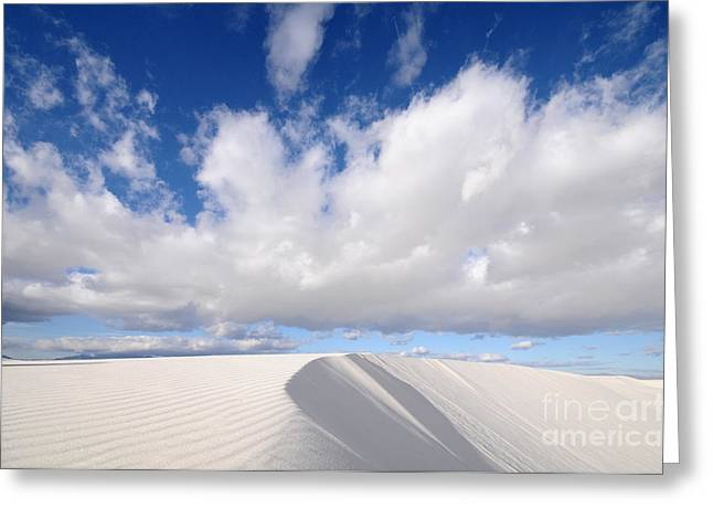 White Sands National Monument In New Greeting Card