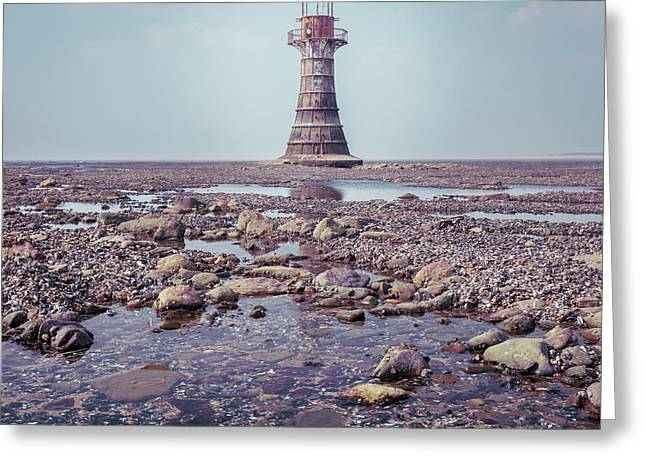 Whiteford Point Lighthouse Greeting Card