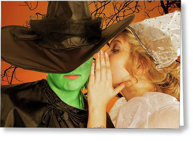Wicked 2 Greeting Card