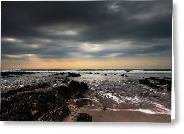 Widemouth Bay, Cornwall. Greeting Card