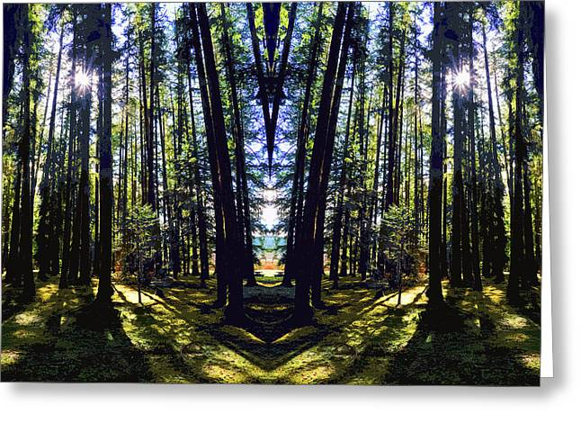 Wild Forest #1 Greeting Card