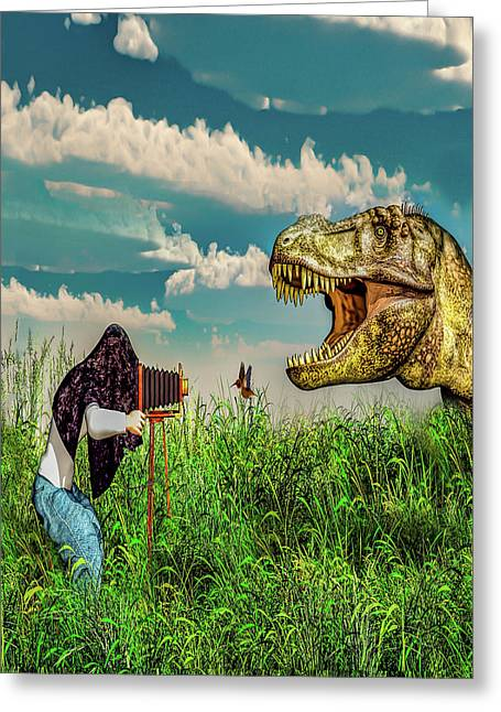 Wildlife Photographer  Greeting Card
