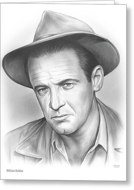 William Holden Greeting Card