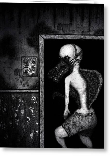 William The Flesheater - Artwork Greeting Card