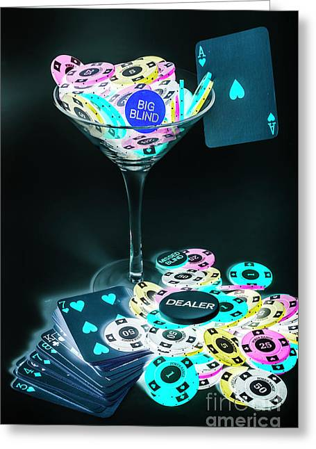 Win And Tonic Greeting Card