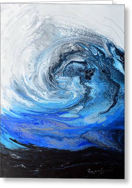 Wind And Wave Greeting Card