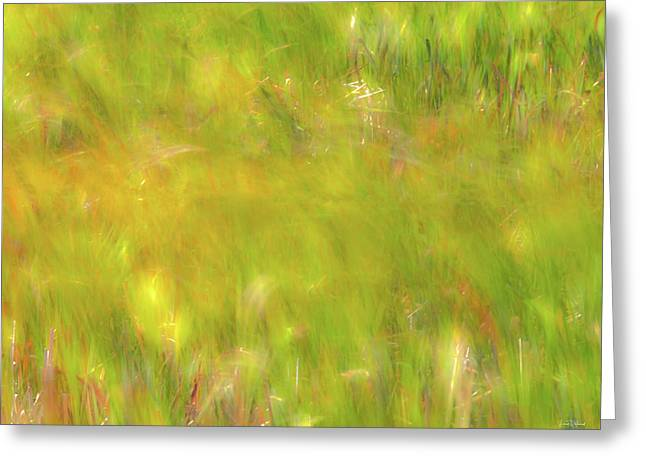 Wind Painting 4 Greeting Card by Leland D Howard