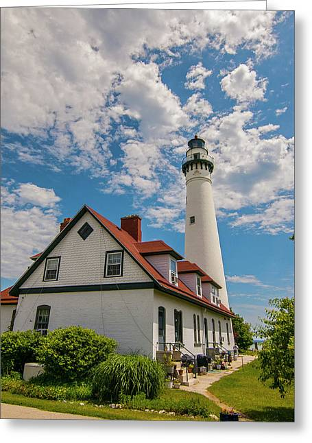 Wind Point Lighthouse No. 2 Greeting Card