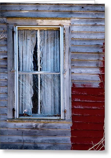 Window In Marlboro Greeting Card