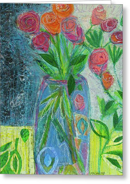 A-rose-atherapy Greeting Card