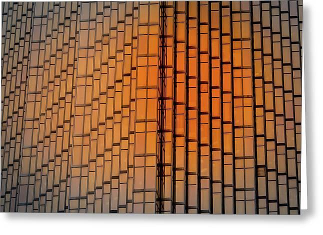 Windows Mosaic Greeting Card