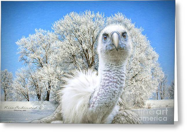 Winter Becomes Her Greeting Card