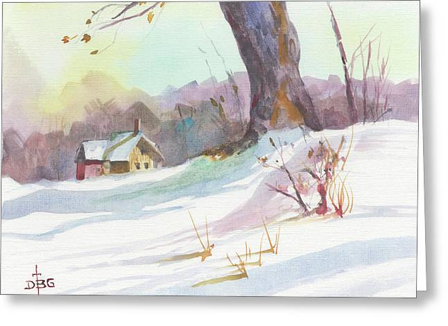 Winter Break Greeting Card