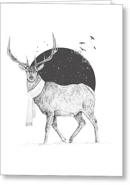 Winter Is All Around Greeting Card
