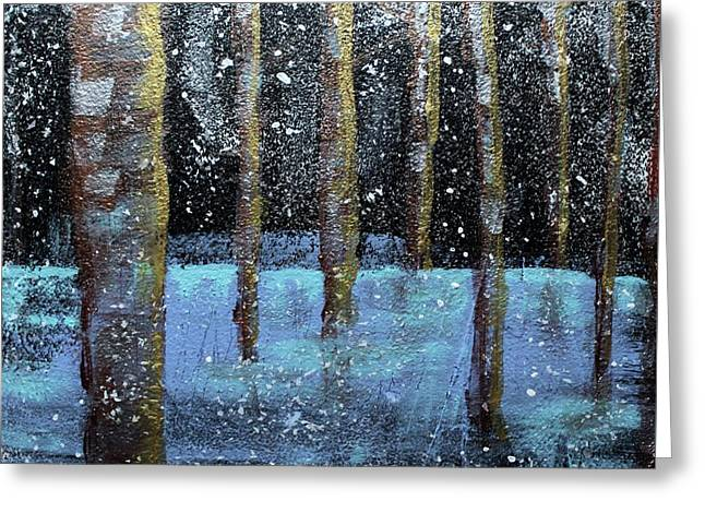 Wintry Scene I Greeting Card