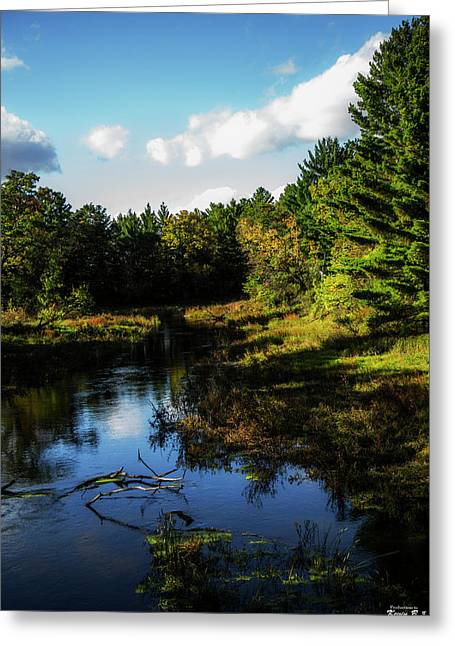 Wisconsin Waterscape Greeting Card