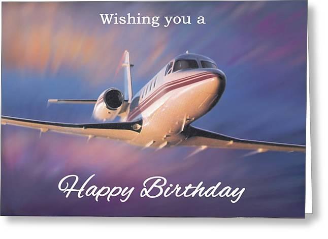 Wishing You A Happy Birthday Greeting Card