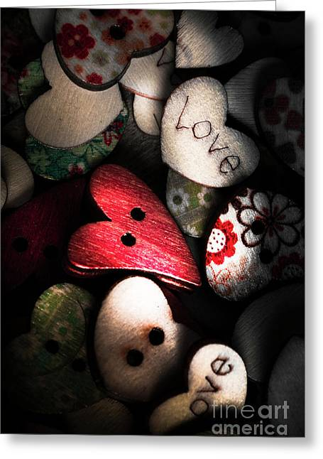 With Sentiment In The Sewing Box Greeting Card