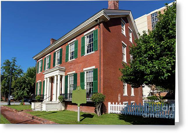Woodrow Wilson Boyhood Home - Augusta Ga 2 Greeting Card