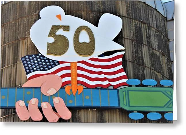 Woodstock 50th Anniversary Greeting Card