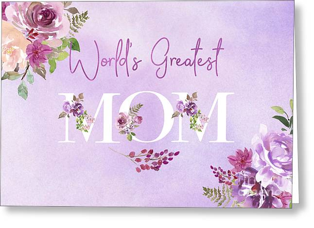 World's Greatest Mom 2 Greeting Card