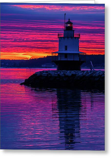 Wow Sunrise Greeting Card