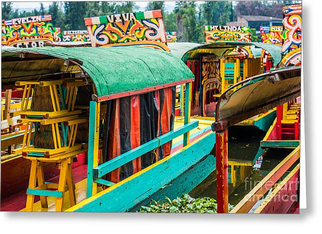 Xochimilco, Mexico City Greeting Card