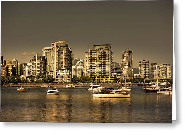 Yaletown Golden Hour Greeting Card