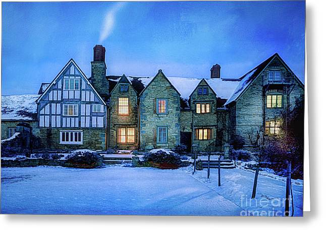 Greeting Card featuring the photograph Ye Olde Manor by Edmund Nagele