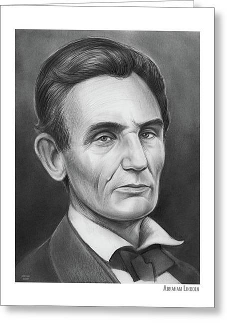 Young Lincoln Lawyer Greeting Card