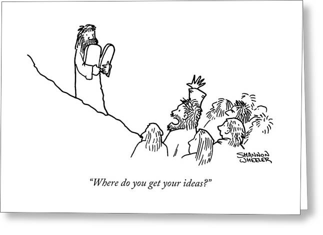 Your Ideas Greeting Card