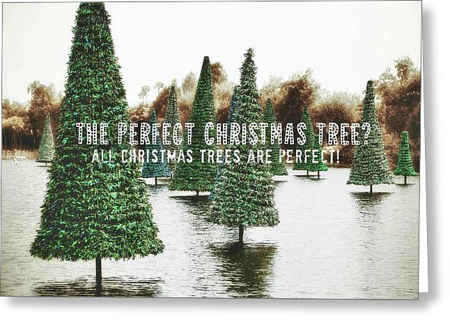 Yule Pool Quote Greeting Card by JAMART Photography